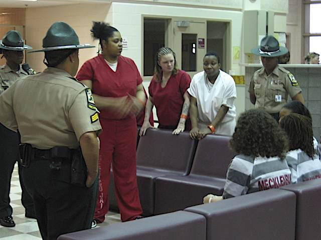 Inmates lecture teens