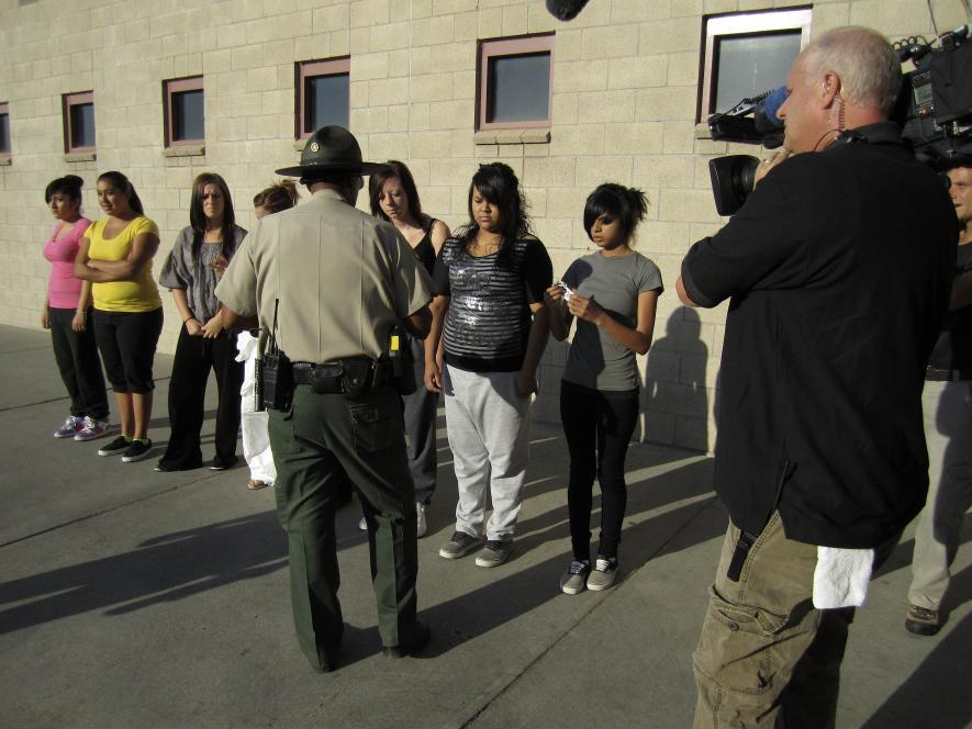 Teens receive inmate numbers