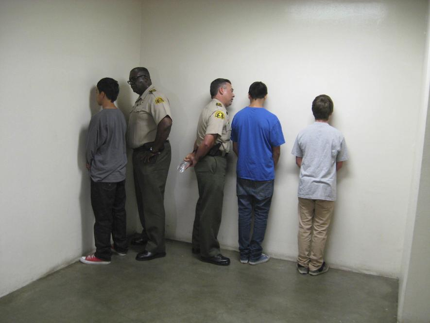 Deputies break down teens at intervention program
