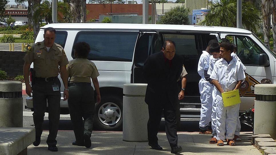 Deputies and teens make last stop