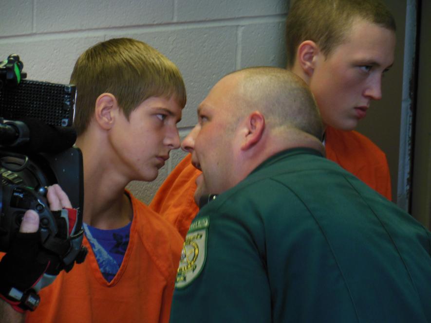 Deputy Lyle gets in Toby's face