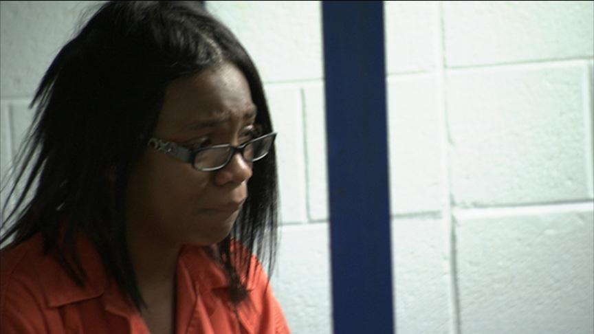 Akia sobs at reality of jail