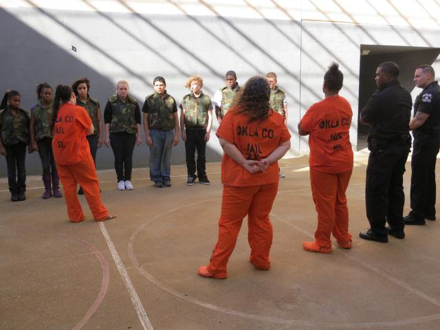Oklahoma County Jail's female inmates