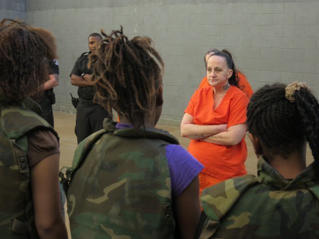 White supremacist inmate warns teens
