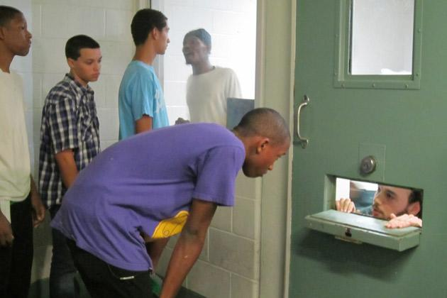 Deshawn listens to inmate's advice