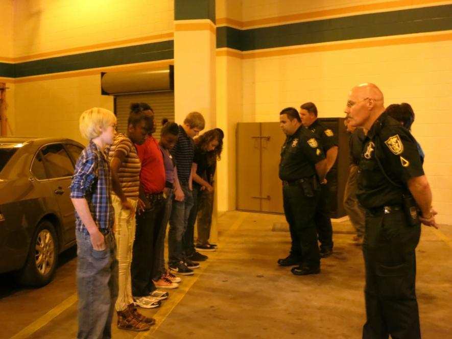 Florida teens empty their pockets