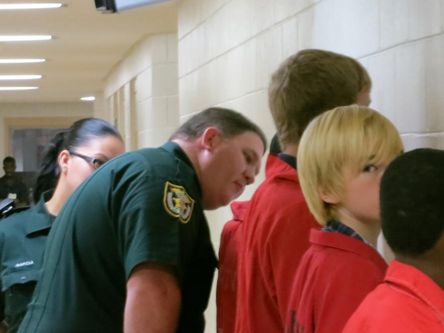 Lake County COs work with teens