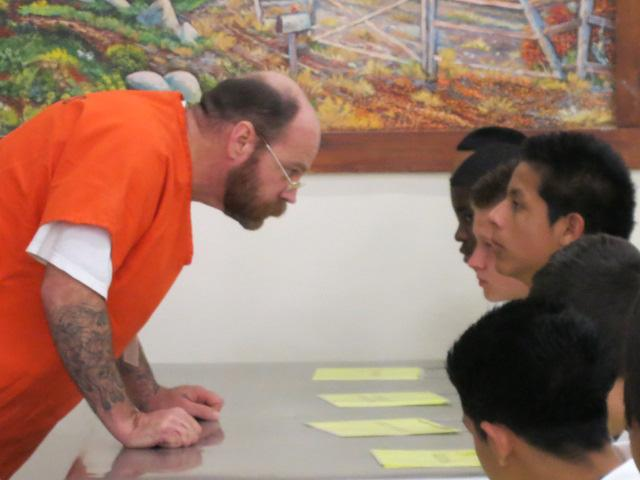 Inmate John tells consequences of burglary