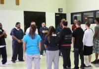 Teens come face-to-face with inmates