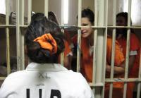 Deputy Hernandez speaks to Tia