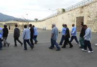 San Quentin inmates lead teens on tour