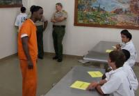 Inmate frustrated with defiant teen