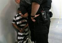 Daryun is handcuffed at Oneida County