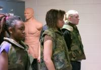 Oklahoma teens wear weighted vests