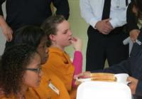 Boston teen girls taste inmate meals