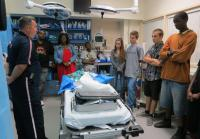 Jacksonville teens hospital trauma room