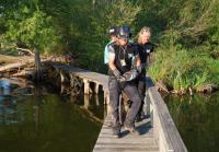 Exterminators bring gator back to water