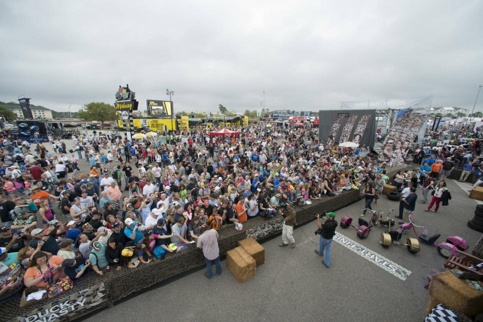 Duck's eye view of Duck Dynasty 500
