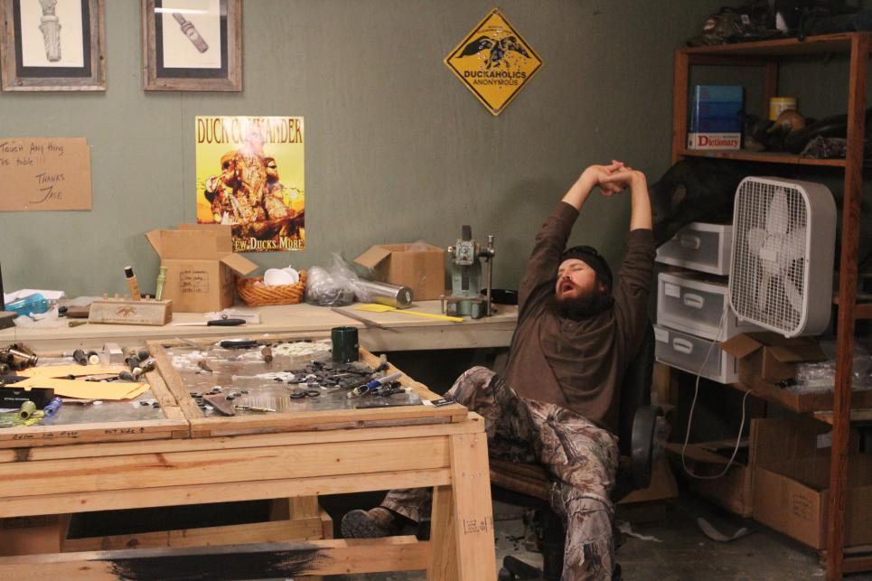 Jase Robertson feels caffeine deprivation
