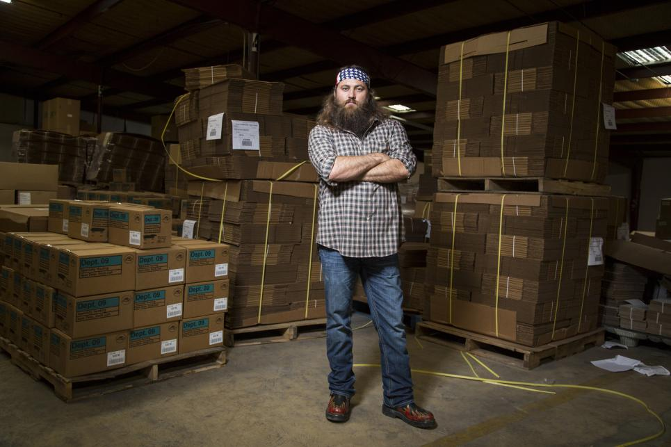 Willie helped Duck Commander make millions