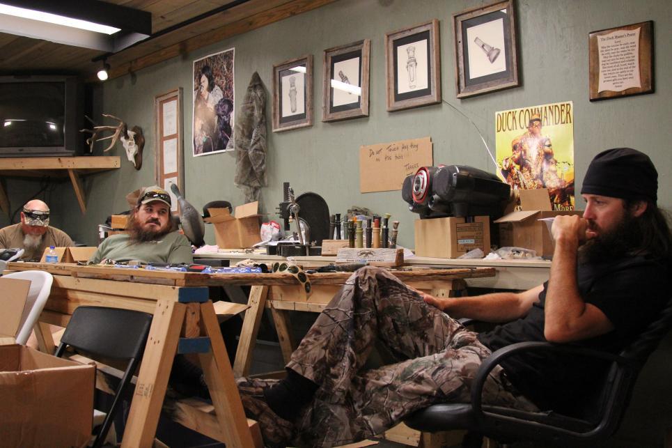 Guys listen to Mountain Man's radio show