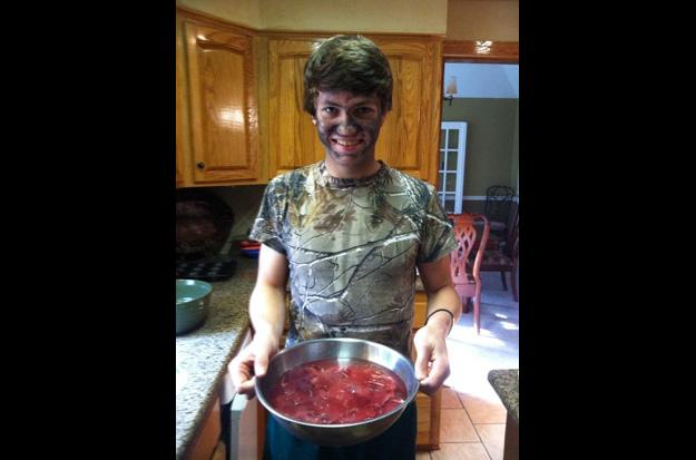 Cole Robertson hunts and cooks