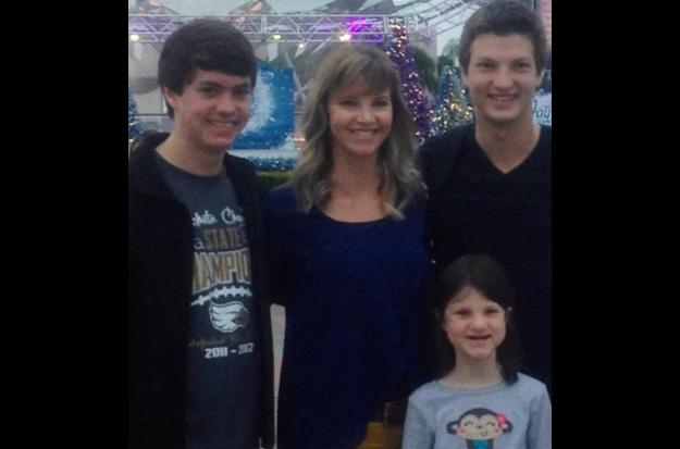 Missy Robertson  cherishes time with her kids