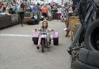 Korie Robertson takes trike for a spin