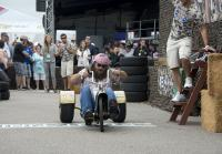 Willie races trike at Duck Dynasty 500