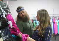 Willie takes Sadie dress shopping