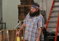 Willie accepts Jase's ping pong  challenge