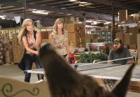 Willie and Jase challenge Korie and Missy to ping pong