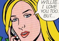 Korie as Roy Lichtenstein style pop art