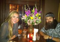 Jep Robertson takes  wife out for birthday