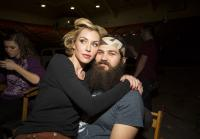 Jessica and Jep Robertson pose