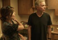 Scott Yancey and Amie prepare for kitchen demo