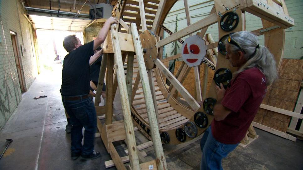 Dog Sized Hamster Wheel Human-sized Hamster Wheel