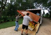 Jarrett cannot  fit half pipe ramp in trailer