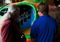Roy wins bid for submarine playground