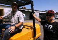 Chris  gets his way loading survival bunker