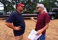 Roy has conflict with water tower buyer