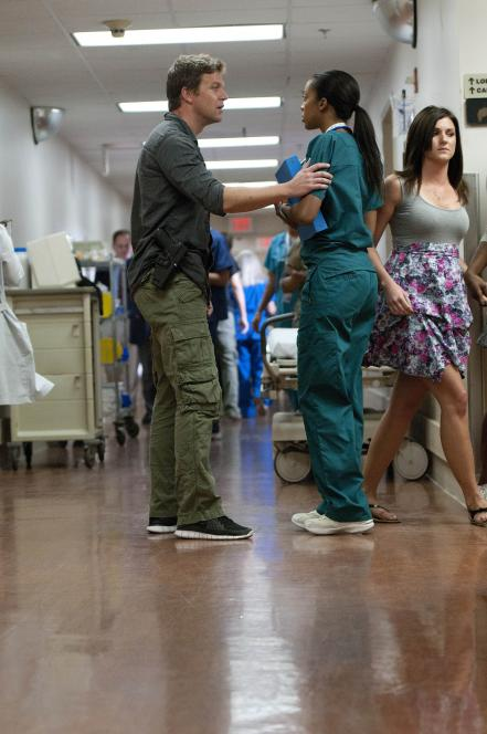 Jim searches for Callie at hospital