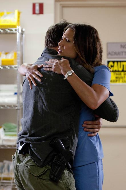 Jim finds and hugs Callie
