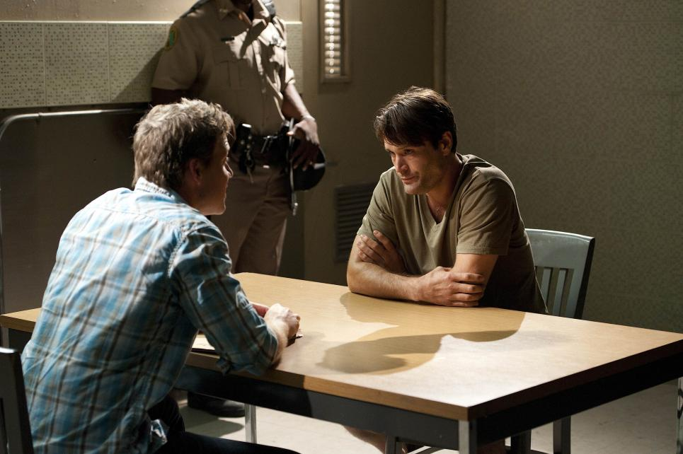 Jim interrogates patient at Higher Roads