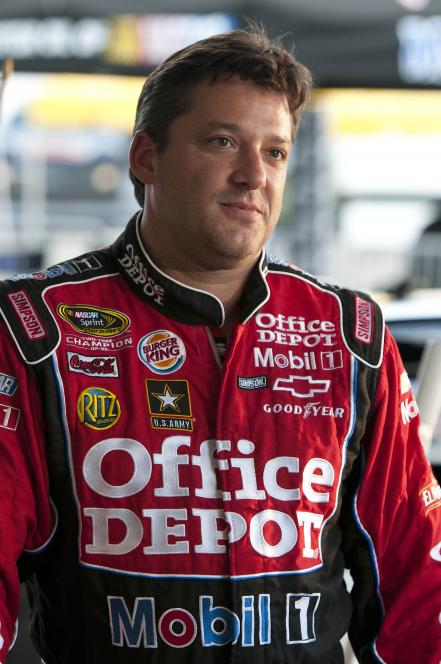 Tony Stewart makes appearance