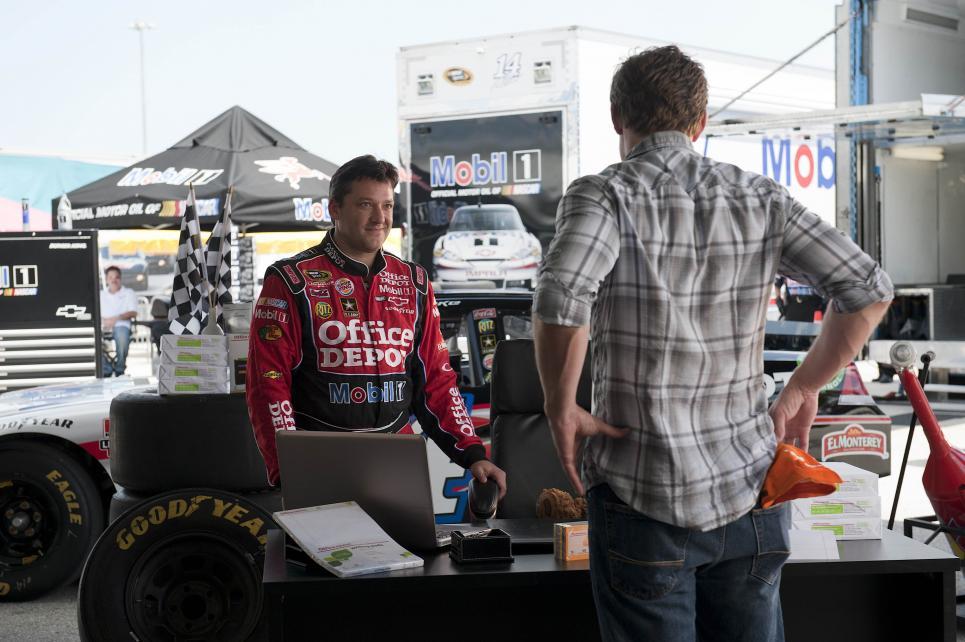 Jim questions NASCAR Champ Tony Stewart
