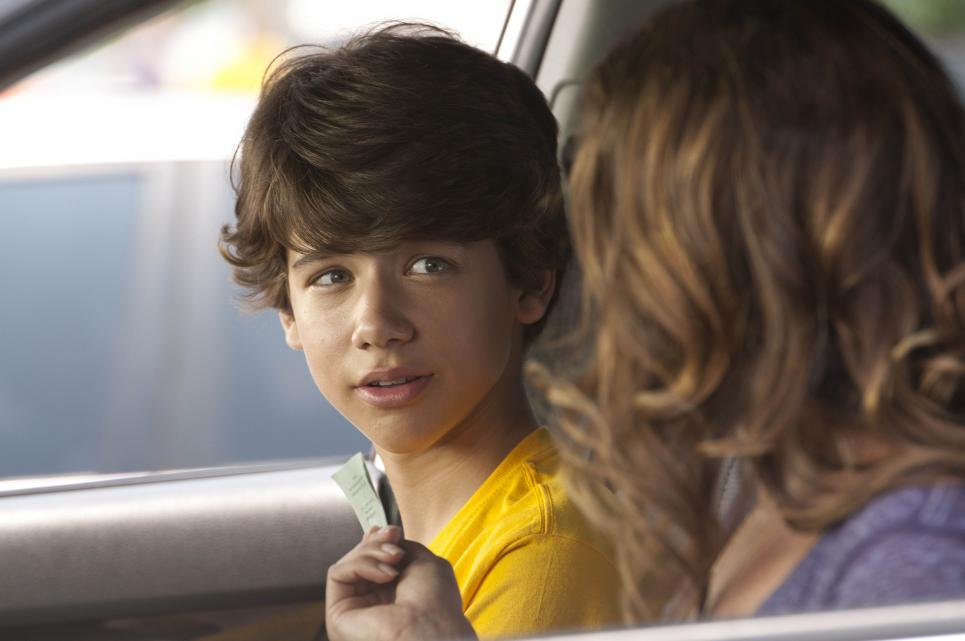 Callie Cargill tries to hand Uriah Shelton Glades