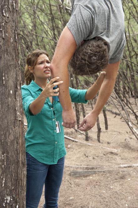 Callie tries to help Jim