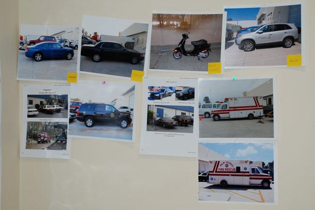 Choosing cars for future shoots