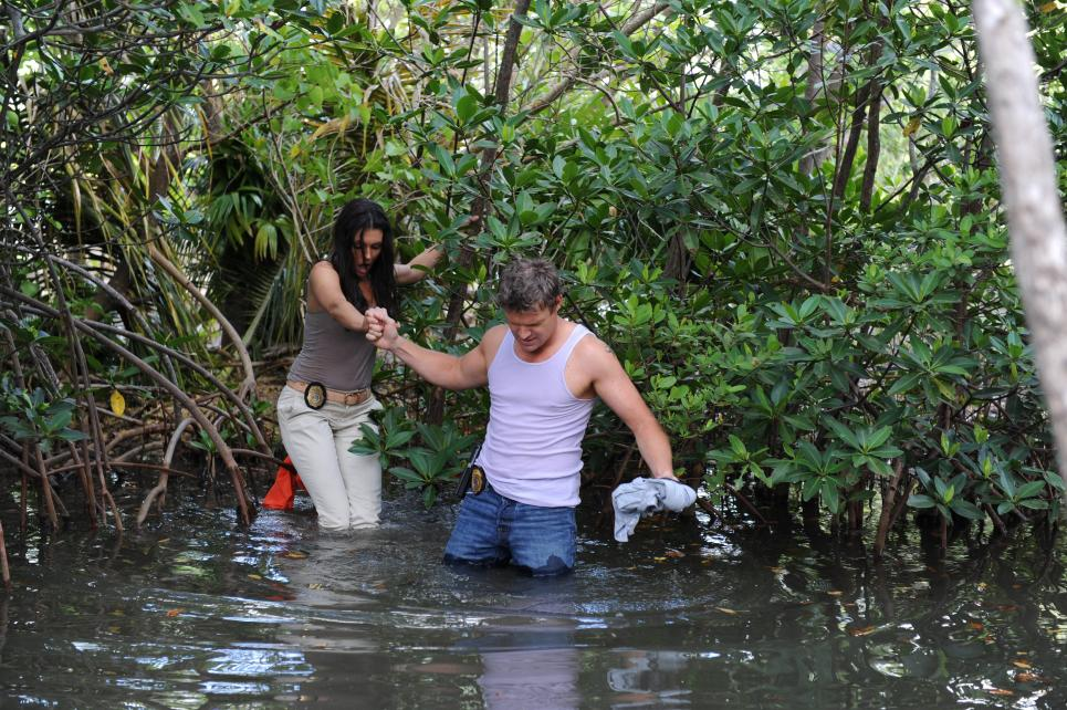 Jim and Jennifer search for Neil Gannon
